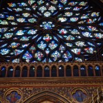 HDR of Saint-Chapelle Rose Window