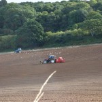 Seeding in Normandy