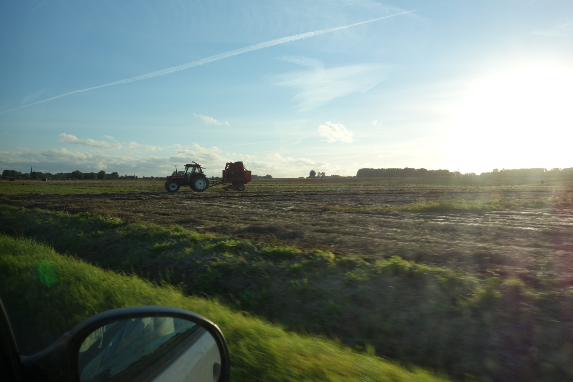 More machinery in Normandy